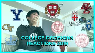 college decisions reaction 2019! (hypsm & more!)