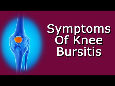 Symptoms Of Knee Bursitis