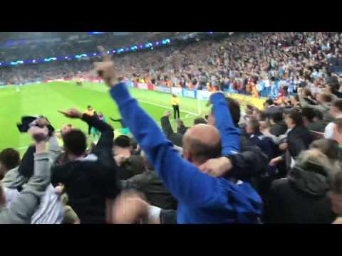 Tottenham Fans And Players Celebrate Making The Semi Finals