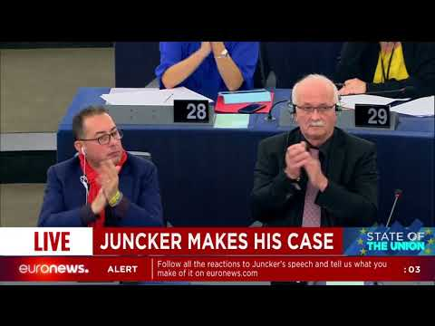 State of the Union 2017: President Juncker comments on Brexit
