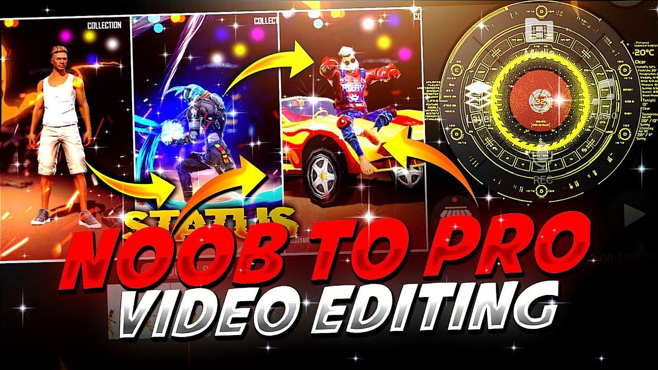 NOOB PRO LEGEND Video Editing Tutorial in hindi