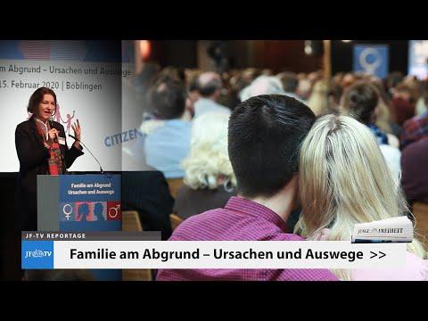 Familie am Abgrund (JF-TV Reportage zur Demo für Alle in Böblingen)