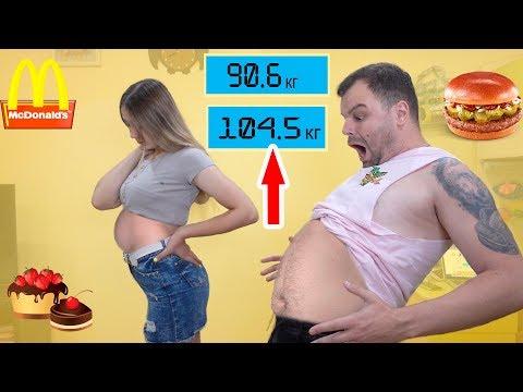КТО СМОЖЕТ НАБРАТЬ БОЛЬШЕ ВЕСА ЗА 24 ЧАСА Челлендж Сколько весит Лера