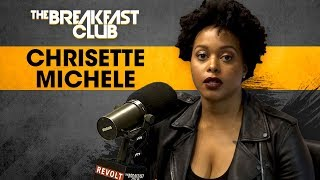 connectYoutube - Chrisette Michele Addresses Miscarriage + Aftermath Of Performing At Trump's Inauguration