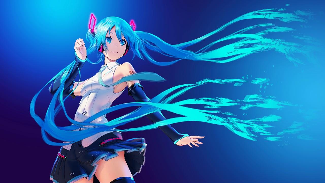 Hatsune Miku Vocaloid 4k Live Wallpaper Yl Computing