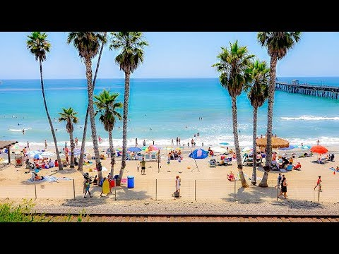 Scenes From San Clemente Beach, California