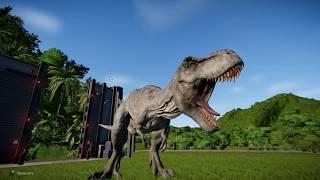 Битва динозавров.