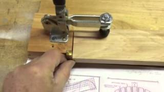 Tapering Jig For Adirondack Back Slats