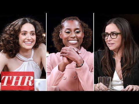 THR  Comedy Actress Roundtable: Emmy Rossum Issa Rae Pamela Adlon America Ferrera & More