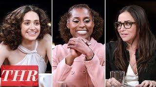 THR Full Comedy Actress Roundtable: Emmy Rossum, Issa Rae, Pamela Adlon, America Ferrera & More! YouTube Videos