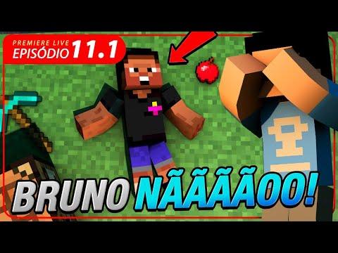 O BRUNO NOS DEIXOU NA SAGA MINECRAFT!!! #11.1