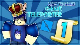 Roblox | Come fare gioco Teleporter - Teleport giocatori tra i giochi In Roblox!!