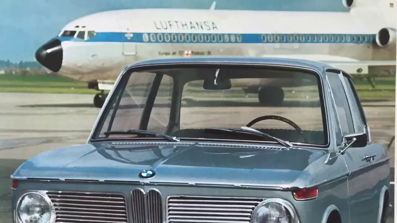 BMW 1600-2, 1966-1975 - YouTube