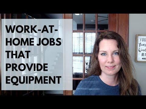 Work from Home Jobs that Provide Equipment