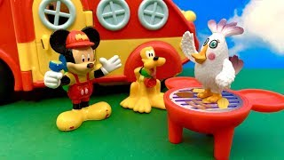 Bajka Myszka Miki i Pluto po Polsku   Pyszności z grila