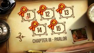 Escape - Mansion of Puzzles Chapter III Parlor Level 11, 12, 13, 14, 15.