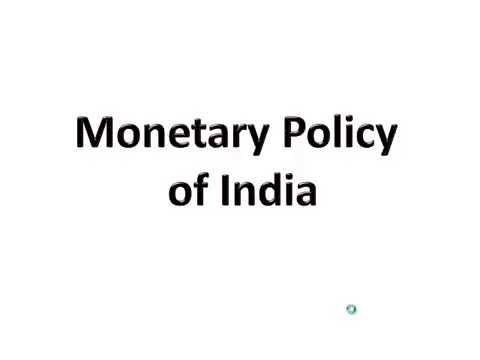 Monetary Policy (Hindi)