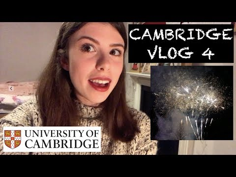 CAMBRIDGE VLOG 4: Fireworks, Caff, and the Van of Life!