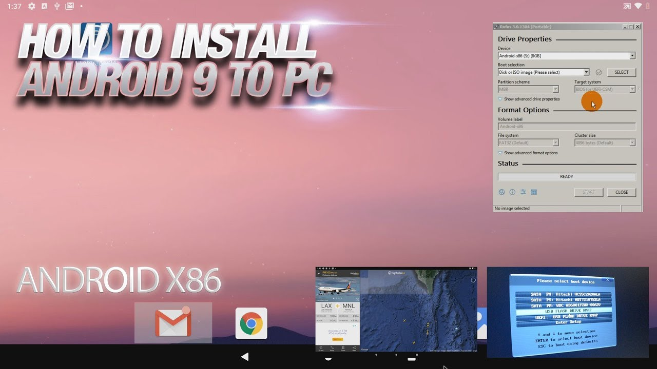 How to Install Android 12 in PC with Android X12 - Nov 20112