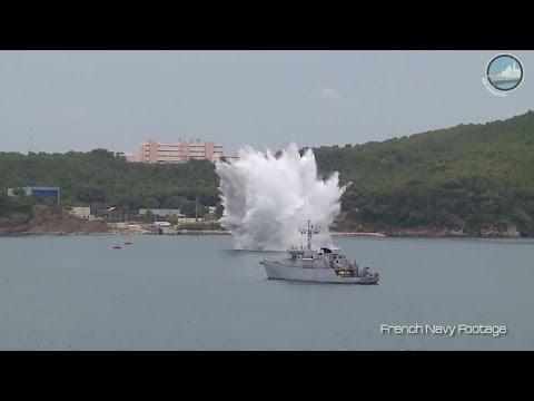 Euronaval 2018: French Navy Mine Warfare & Thales USV for MCM