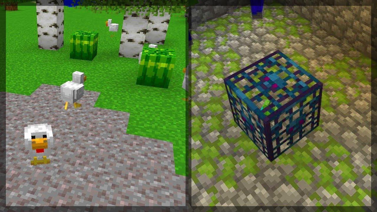 minecraft nowinki nowy mob spawner wir melon oraz. Black Bedroom Furniture Sets. Home Design Ideas
