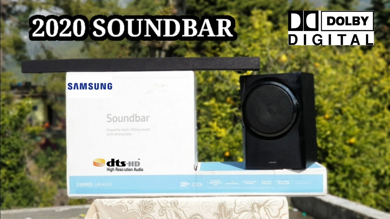 Samsung HW-K350 2.1 Soundbar    UNBOXING/REVIEW    15000watts Dolby Audio (DEEP BASS) 8000rs ONLY