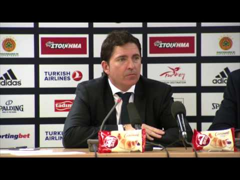 Euroleague Post - Game Press Conference: Panathinaikos Superfoods vs CSKA Moscow