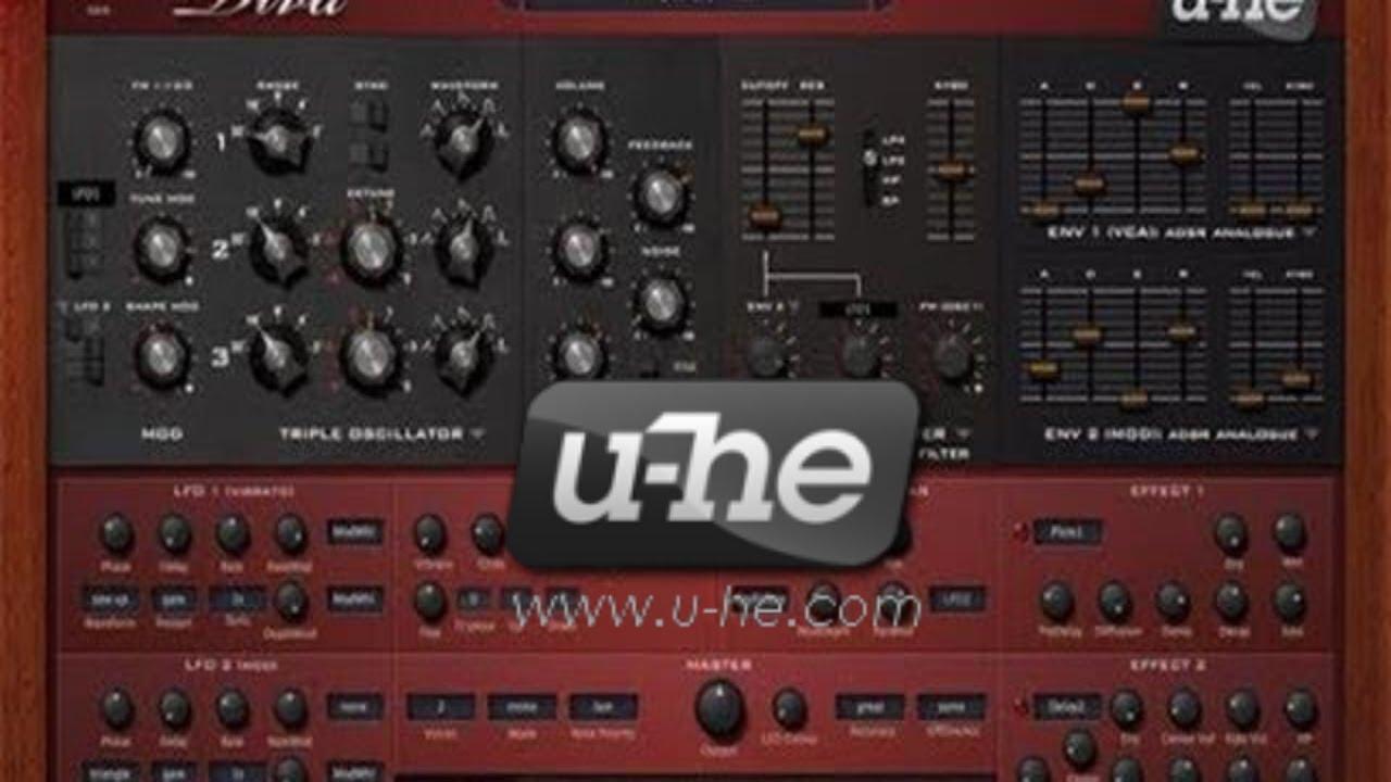 U-he Diva Vst ( Powerful Synth )