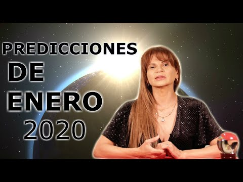 PREDICCIONES DEL MES DE #ENERO