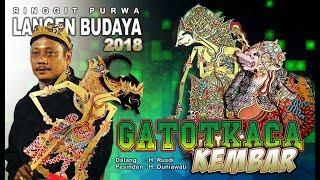 Wayang Kulit Langen Budaya - GATOTKACA KEMBAR 2018 (Full)