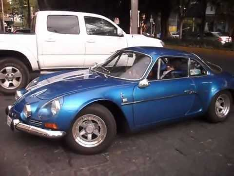 Alpine Renault A110 México Df Youtube