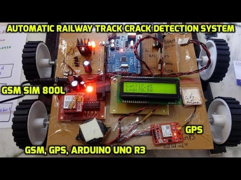 Automatic Railway Track Crack Detection System Using GSM & GPS