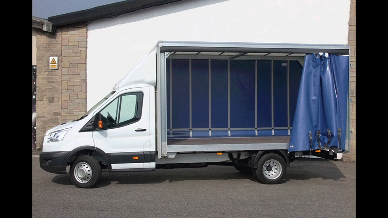 Hire A Ford Transit Curtain Side Van