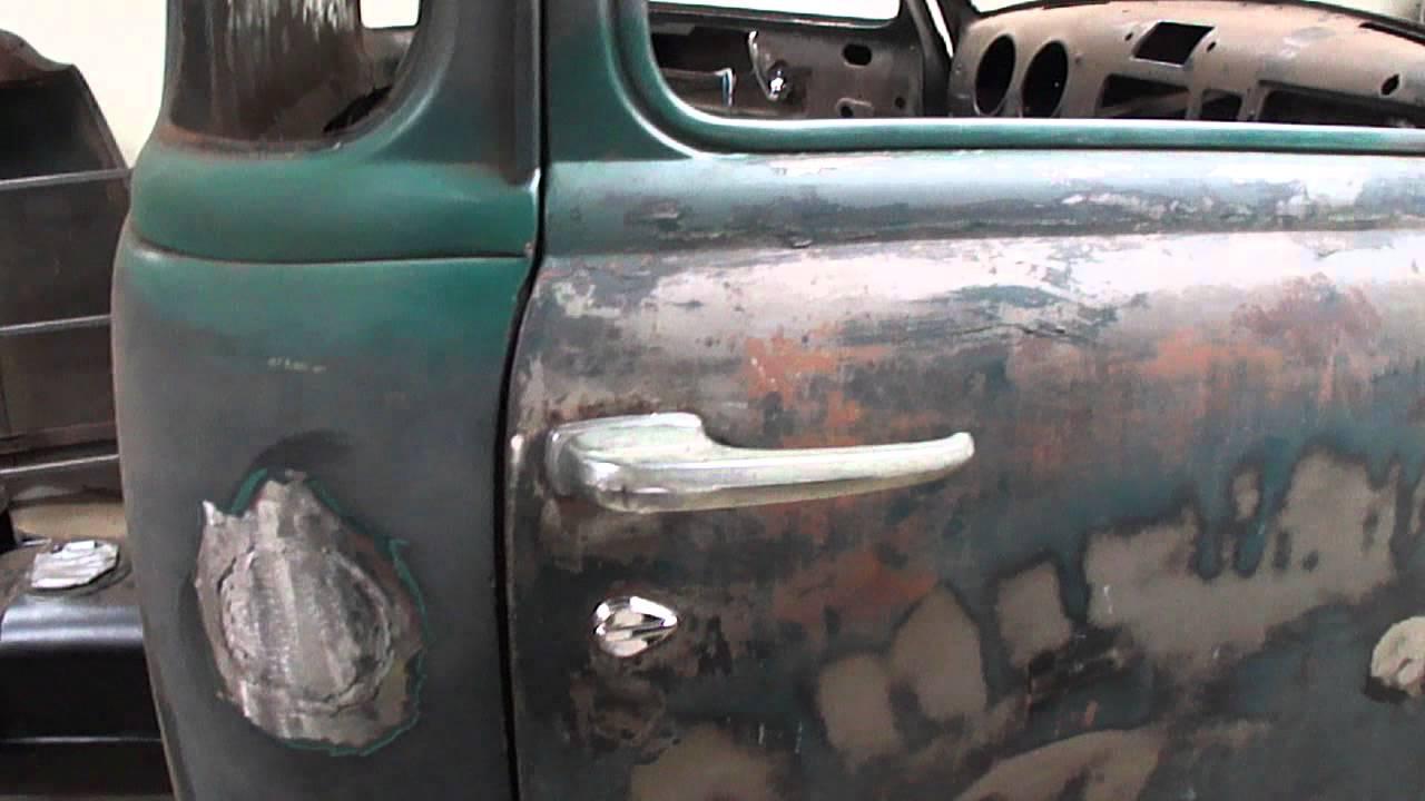 51 Chevy Truck Remote Door Locks Youtube