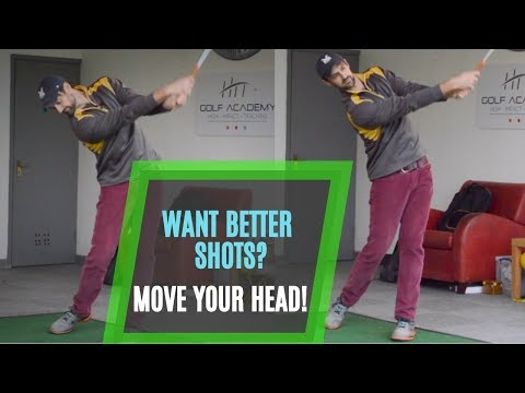 Improve Your Golf Swing Now! Move Your Head and Neck To Strike Better