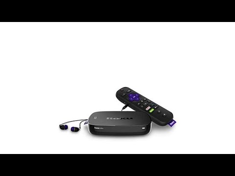 Roku Ultra 4K UHD WiFi Streaming Media Player with Voice...