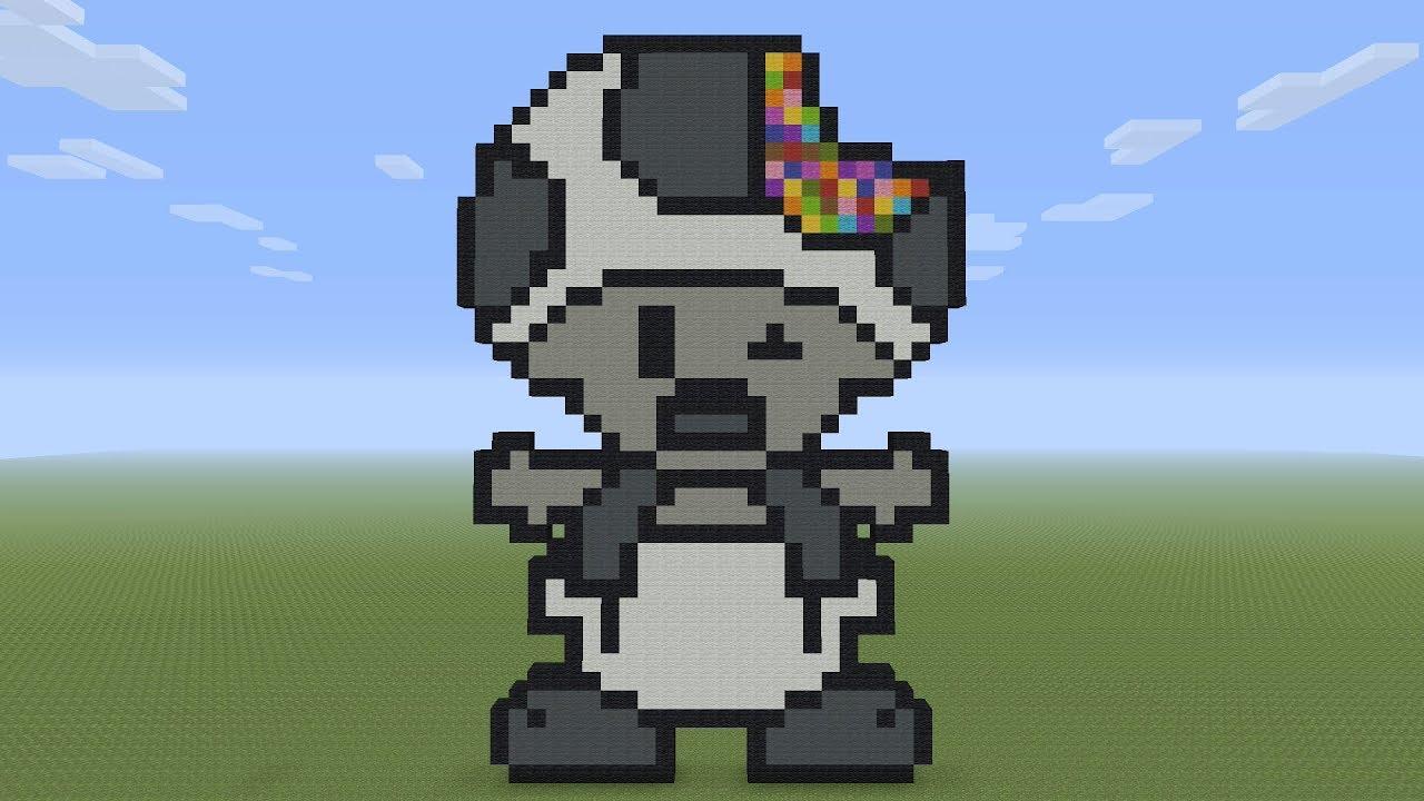 Minecraft Pixel Art Rave Zombie Toad Youtube