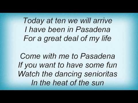 Слова песни Кристина Орбакайте - Pasadena