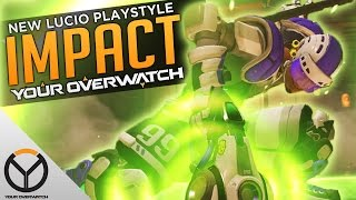 Overwatch: The POWER of the NEW Lucio!