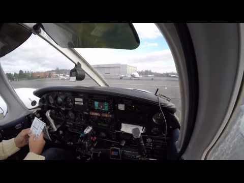 Multi-engine pattern operations on a windy day