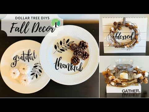 🍂Dollar Tree Fall Farmhouse DIY Decor🍂