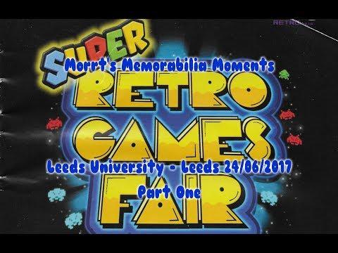 Super Retro Games Fair @ Leeds University  - Leeds 24/06/2017 Memorabilia Moment Part 1 of 3