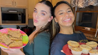 VLOGMAS DAY 1 baking with Kendall  Nia Sioux