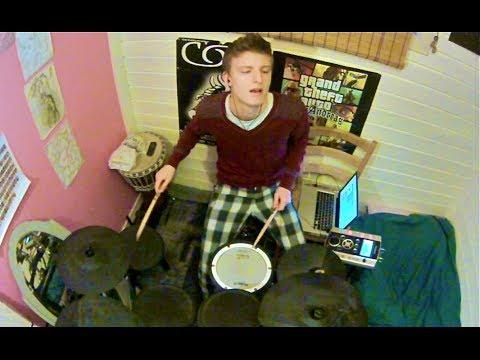 James Blake  Life Round Here drum , Theo Myling