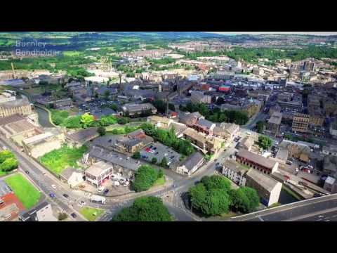 Burnley by Drone