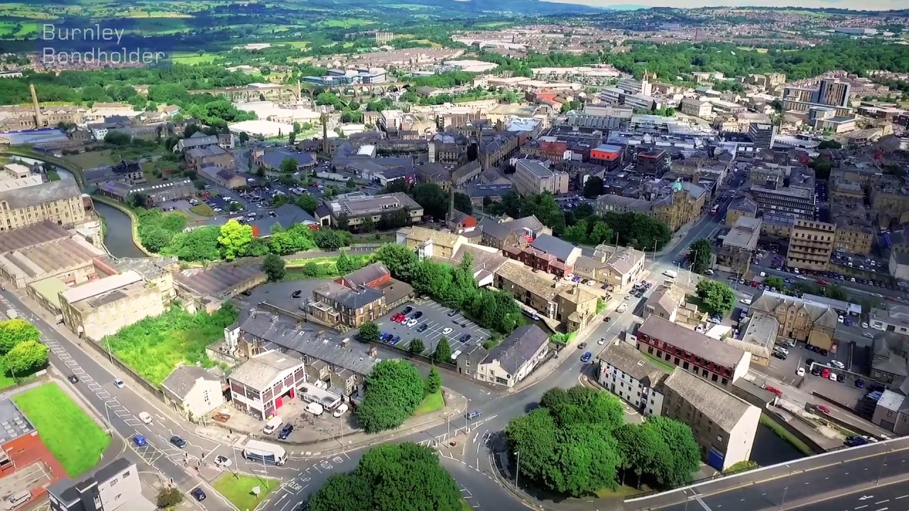 Burnley by Drone - YouTube