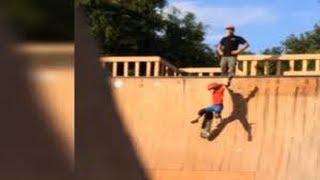 Video of man kicking son down ramp at Jacksonville skate park goes viral