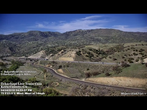 Tehachapi Live Train Cam