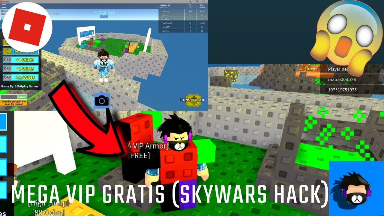 Roblox Skywars Tips For Mega Vips Roblox Skywars How To Glitch In Mega Vip 2019 Robux For How To Get Free Robux Codes Meepcity Script Gui
