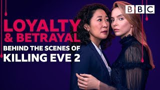 Go behind the scenes on Killing Eve 2 | EXTENDED - BBC